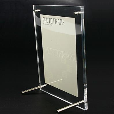 1PCS/LOT Transparent Organic Glass Acrylic Photo Frame,(5 Inch 12.7*16.5 Cm )