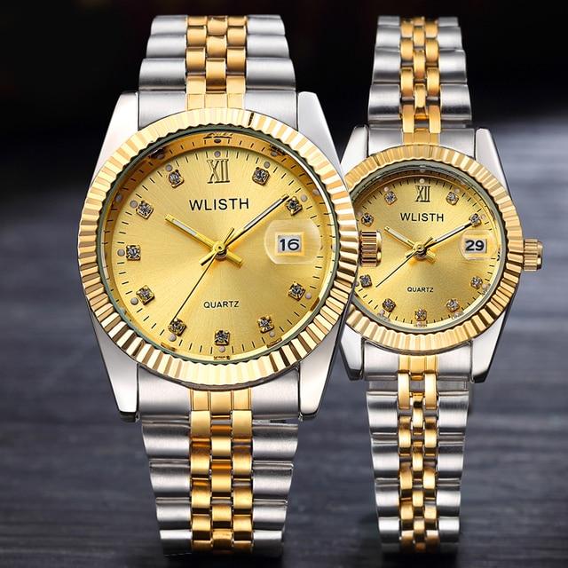 Reloj Hombre 2017 Men Wrist Watch Mens Watches Top Brand Luxury Women Watch Diam