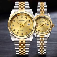 Reloj Hombre 2017 Для мужчин наручные часы Для мужчин S Часы лучший бренд класса люкс Для женщин часы алмазов часы Автоматическая Дата Saat Relogio masculino