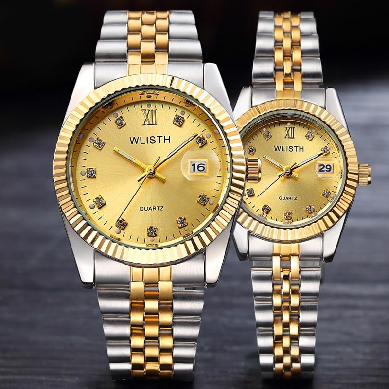 Reloj Hombre 2019 Men Wrist Watch Mens Watches Top Brand Luxury Women Watch Diamond Clock Automatic Date Saat Relogio Masculino