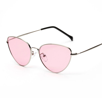Retro Cat Eye Red Sunglasses 1