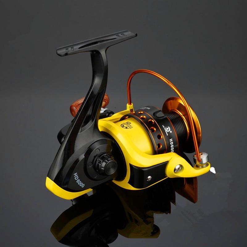 12BB Saltwater Freshwater Fishing Spinning Reel 5.2:1 Spinning Reel for Pro Angler 1000 - 7000 Series Pesca Spinning Reel