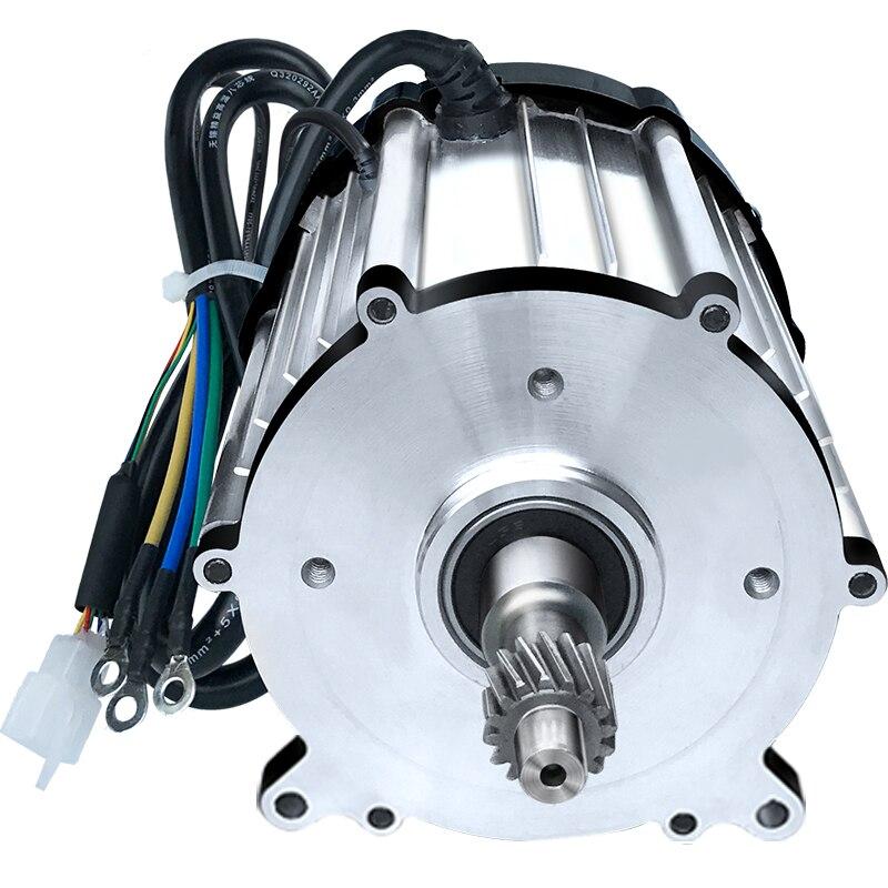 Home Improvement Permanent Magnet Dc Speed Reduction Brushless Motor 48v 60v 800w Electric Three Four Wheeler Brushless Center Motor