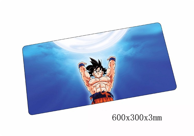 Dragon Ball mouse pads 600x300x3mm pad to mouse notbook computer mousepad wukong gaming mousepad gamer to laptop mouse mat