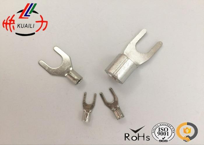 1000PCS Non-insulated Spade Terminal SNBS 2-6 1000pcs non insulated spade terminal snb3 5 6
