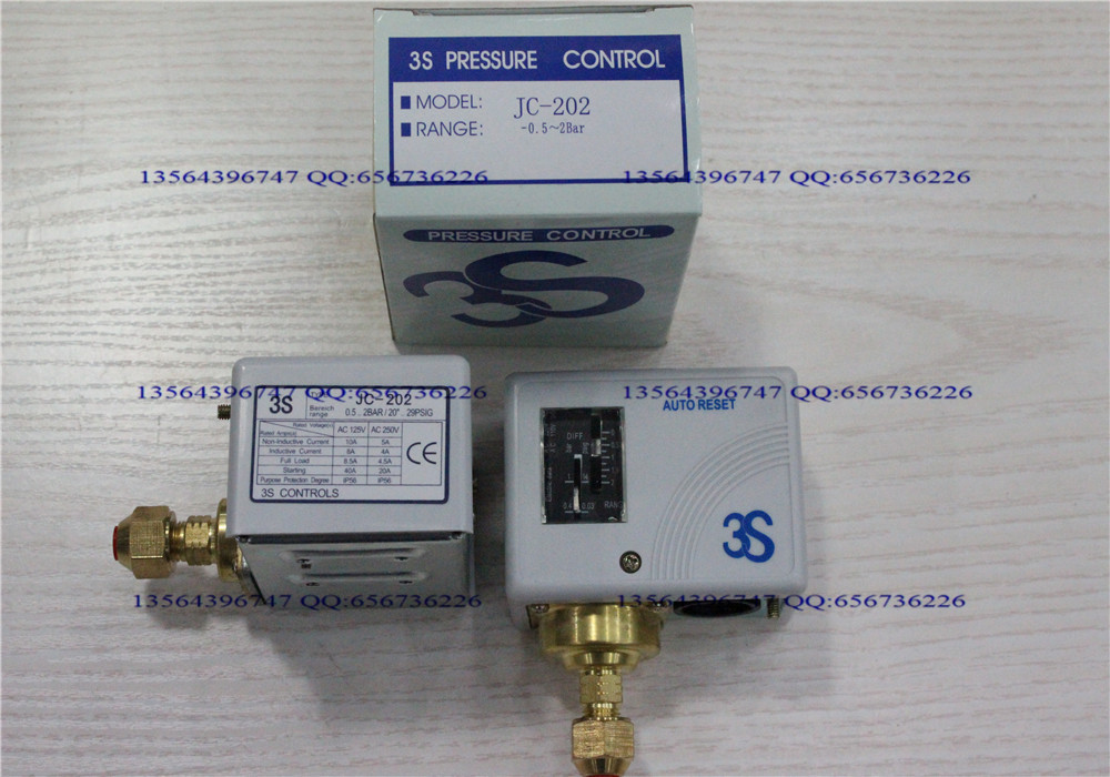 3s pressure switch single electro controller JC-202 3s pressure switch single electro controller hns 220 page 8