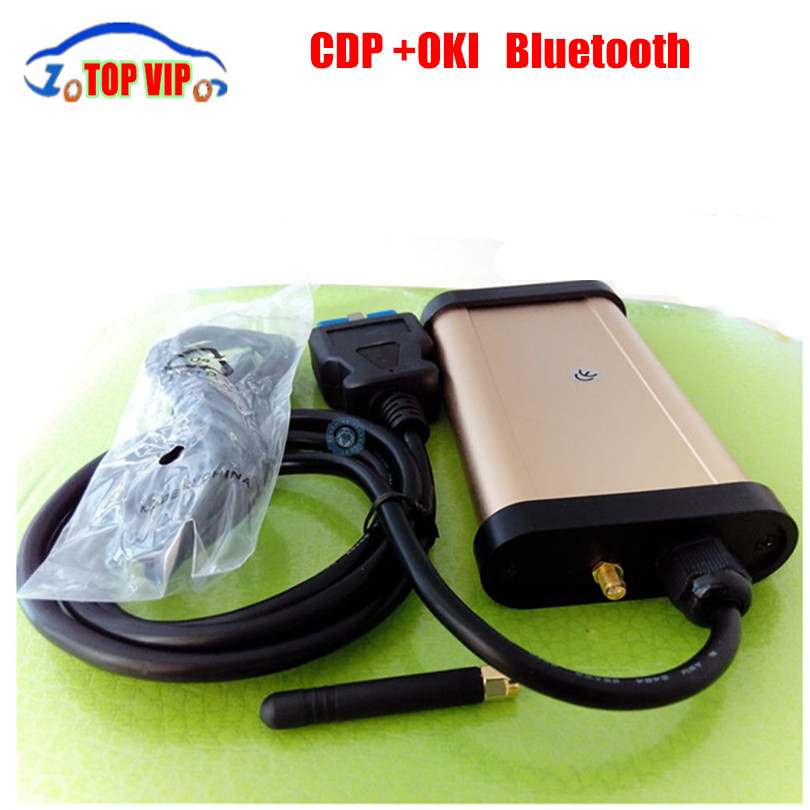 Fast shipping 2013.03 TCS cdp with oki chip for cars & trucks newest CDP Pro bluetooth professional diagnostic tool TCS cdp pro [free shipping]a quality diagnostic tool 2013 release 1 tcs cdp plus for cars trucks and obd2 3 in 1 no activation needed