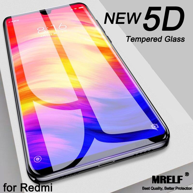 5D закаленное стекло для Xiaomi Redmi Note 7 6 Pro 5 4X защита экрана Redmi 5 Plus стекло для Xiaomi Mi 8 A2 Lite A1 6X 5X Mi 6 Защитные стёкла и плёнки      АлиЭкспресс