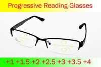 = Clara vida para inteligência progressiva multifocal hfrim óculos de leitura bifocal ver perto ultra luz + 1 + 1.5 + 2 a 4