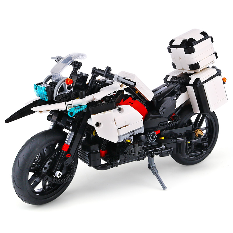 XINGBAO 03019 Genuine 1075PCS The Patrol Motorcycle Set Building Blocks Bricks Educational Funny Toys As Gifts For Kid LegoINGys фруктовая корзина lighting spaces 03019