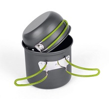 Hot Sale Outdoor Pot Camping Cookware Ulitity Lightweight Picnic Hiking Tableware Backpacking