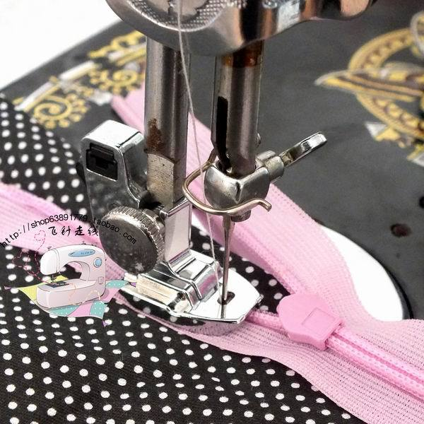 Invisible Zipper Presser FootMetal Low ShankMetal Foot40PcsLot Extraordinary Is My Sewing Machine Low Shank