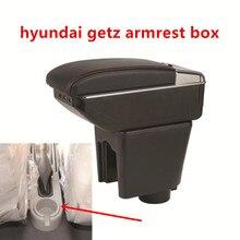 Для hyundai getz подлокотник коробка центральный магазин содержание коробка Подстаканник Пепельница интерьер автомобиля-Стайлинг украшения Аксессуары