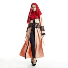 Abaya Muslim Cardigans Long Sleeve Robe Islamic Muslim Women Dress Robe Vintage Jilbab Maxi Arab Clothing Hot