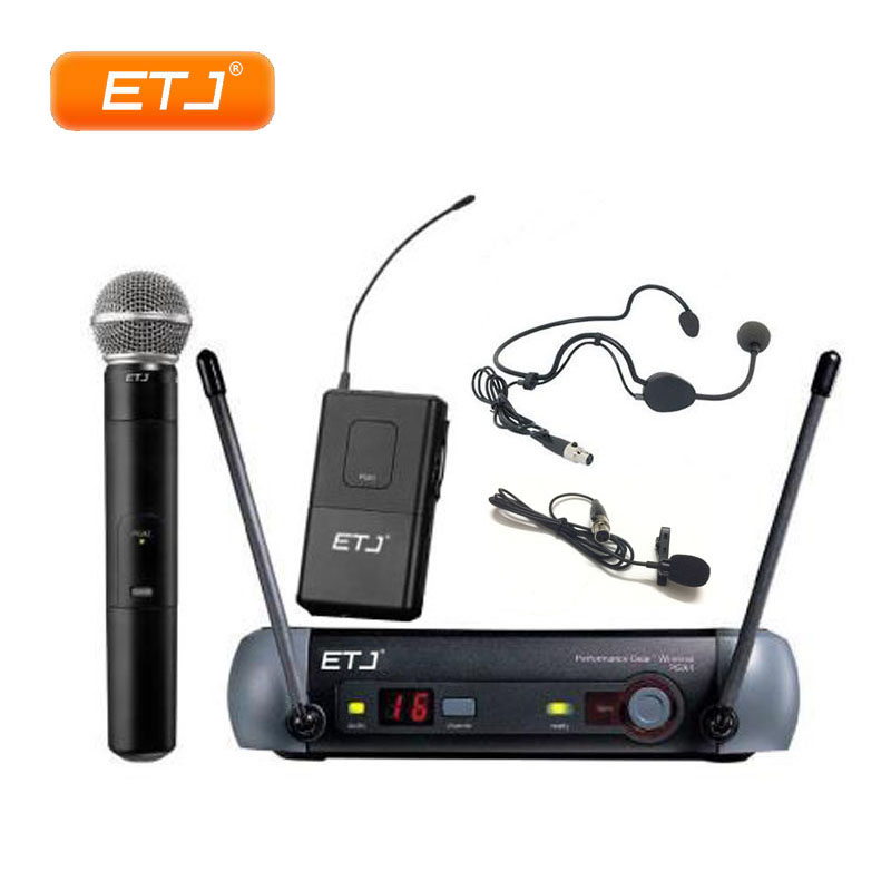 Wireless Microphone PGX24 KTV UHF Wireless System BETA58 Karaoke Top Quality PGX4 PGX2 Handheld Headset Mic With Beltpack zmvp pgx24 professional pgx uhf karaoke wireless microphone system with beta58 super cardioid handheld transmitter microfono