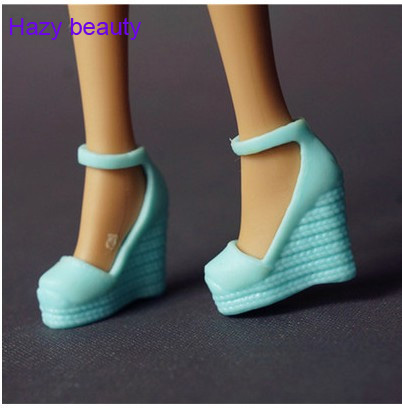 Different Styles For Choose Casual High Heel Shoes Flat Boots For Barbie Doll Fashion Cute Newest BBI00197