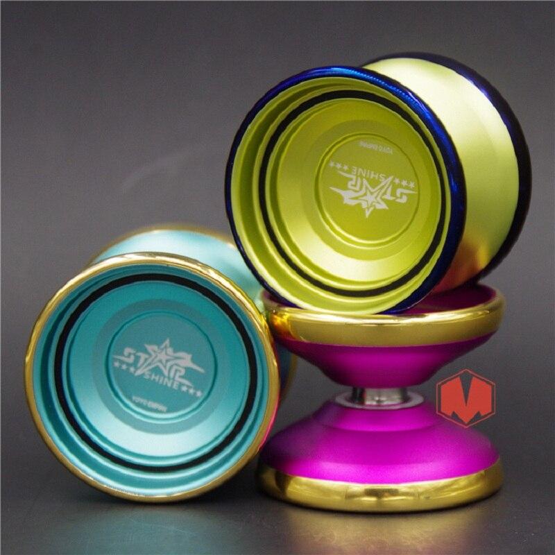 New Arrive YOYO EMPIRE STAR SHINE YOYO  Colorful yo-yo metal Yoyo for Professional yo-yo player Metal  Material Classic Toys