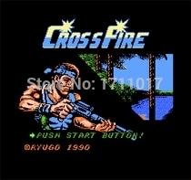 Cross Fire 16 bit MD Game Card For Sega Mega Drive For Genesis