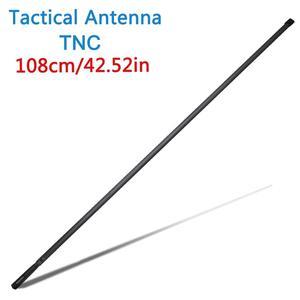 Image 2 - 108CM/42.5Inch ABBREE TNC VHF UHF Dual Band Foldable Tactical Antenna For Kenwood TK 378 Harris AN/PRC 152 148 Walkie Talkie