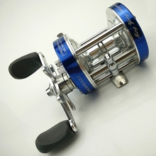 цена на full metal cast drum wheel bait casting fishing reel trolling CL20/30/40/50/60/70/80/90 boat seawater fishing ice fishing reel