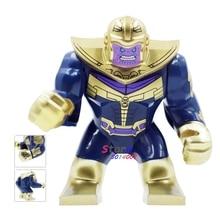 Single Marvel Avengers 3 Infinity War Thanos Infinity Gauntlet Captain America Iron Man figure building blocks toys for children