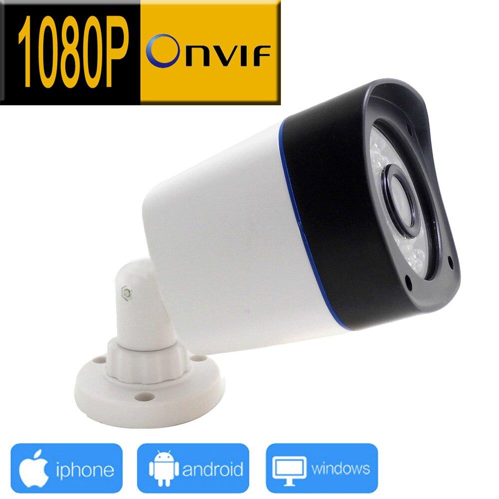 1920*1080 1080 P caméra ip extérieure cctv système de sécurité surveillance infrarouge webcam étanche vidéo cam maison p2p camara jienu