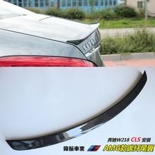 Для Mercedes CLS спойлер cls-класса W218 углеродного волокна задний спойлер багажника Cls 350 550 500 cls63 спойлер AMG Стиль крыло-на 2011