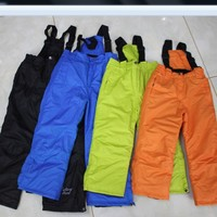 Clearance Winter Children S Outdoor Pants Boy Girl Waterproof Warm Ski Pants Kids Thick Cotton Trousers