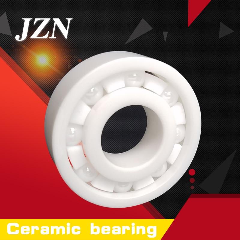 Free shipping 6304 CE size 20*52*15mm Full ceramic bearings ZrO2 Zirconia ball bearings preservative Turn smoothly oilless full ceramic bearings 1pc 6205 zro2 materials 25 52 15mm