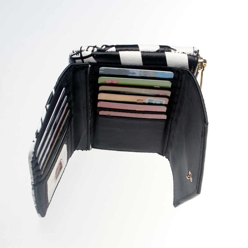 Pesadilla antes de Navidad Top Zip billetera para mujeres de Junio monedero DFT-5526