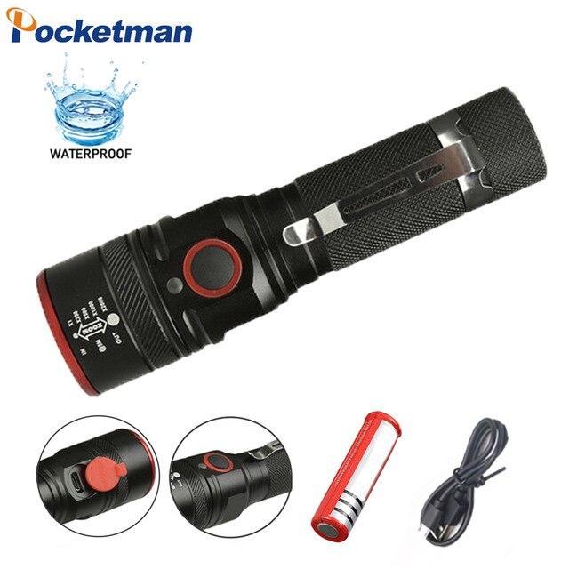 Worldwide delivery xml t6 18650 pocketman in NaBaRa Online