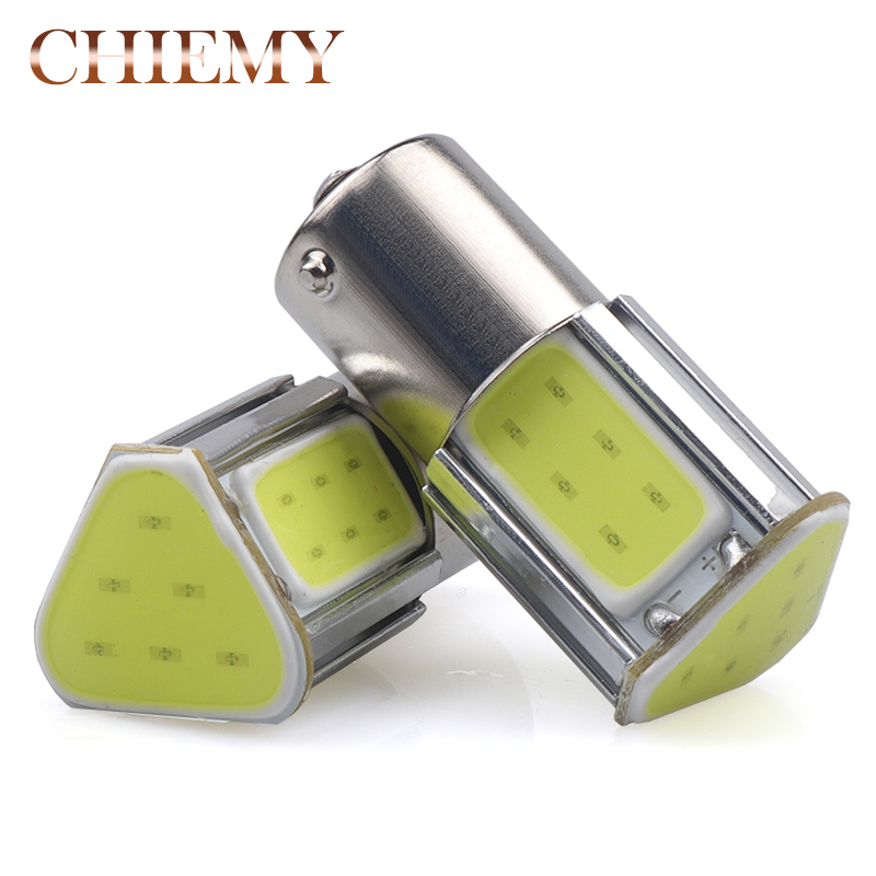 2pcs 1156 BA15S P21W 12V 4 COB Chips LED Bulb For Auto Car Backup Tail Turn Signal Lights Lamp Yellow Red White 6000k 12V newly design watch women girl diamond analog leather band quartz wrist watches watches clock relogio feminino best gift