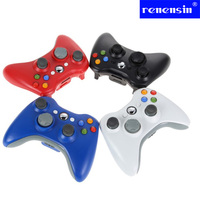Renensin 2.4GHz Wireless Gamepad Remote Controller For Xbox 360 Wireless Controller For Official Microsoft XBOX Game Controller