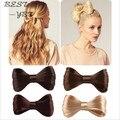 Harajuku новинка большой галстуки парик шпилька для волос с бантом клипы для волос женщин-девочек свадебный волосы