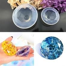 Moules créatifs de fabrication de gâteaux, outils de décoration de gâteaux, moule en Silicone cristal en forme de diamant, outils de bijoux à faire soi même, en forme de cœur damour