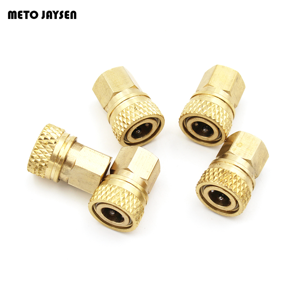 PCP Airforce Paintball Quick Coupler Connector Quick Disconnect Copper M10 Thread For Air Socket Connection QF002 3PCS=1 LOT