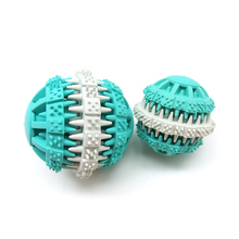 petcircle 7cm pet dog toys Rubber Non-toxic Balls Pet Toys Ball Chew Toys for large dogs Tooth Cleaning Balls Food