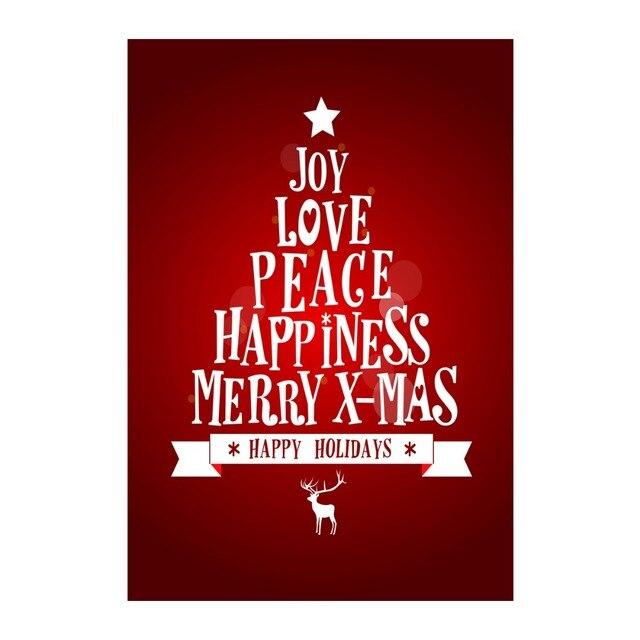 Freude Liebe Frieden Glück Frohe Weihnachten Dekorative Outdoor ...
