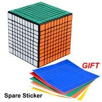 SHENGSHOU Adjustable Elastic 10 10 10 Magic Cube Speed Puzzle Cube Educational Toy Gifts