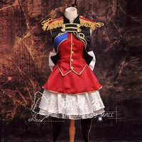 Macross Frontier Sheryl Nome Final section Cosplay Costume Halloween Party robe