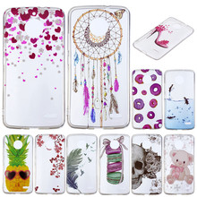hot deal buy for moto e4 silicone cover transparent anime silicon tpu skin soft back cover phone case for motorola moto e4 phone bags cases