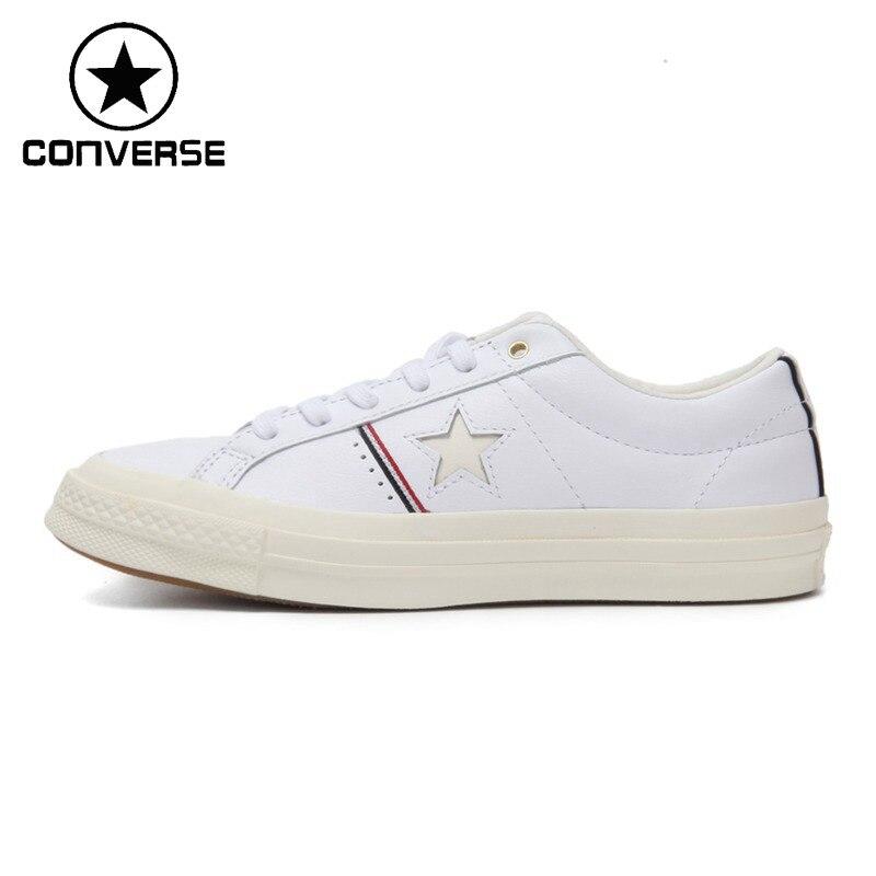 все цены на Original New Arrival 2018 Converse LIFESTYLE Unisex Skateboarding Shoes Canvas Sneakers онлайн
