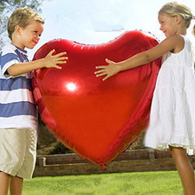 75cm Heart Shape Aluminum Inflatable Foil Balloons for Birthday Party Decorations Helium Balloon Globos Wedding Decoration