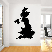 English map Globe Earth Country wall vinyl sticker custom made home decoration fashion design