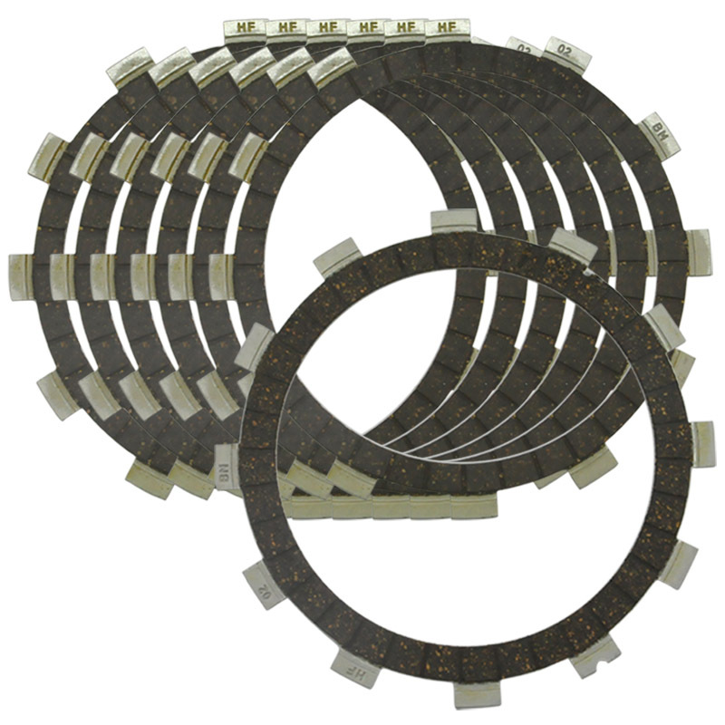 LOPOR 7 PCS Motorcycle Friction Clutch Plates for Yamaha YFM350 R U X ER FW RSE 87-09 YFM35R YFM35RSE YFM35X YFM400FW NEW