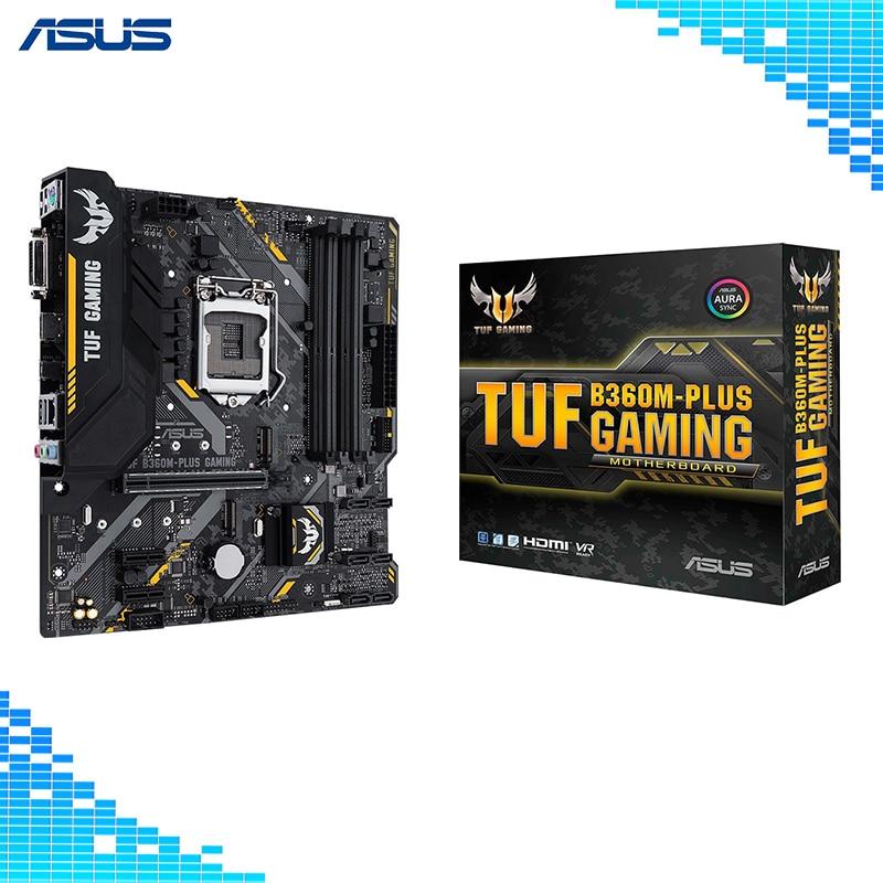 все цены на Asus TUF B360M-PLUS GAMING Desktop Motherboard Intel B360 Chipset Socket LGA 1151