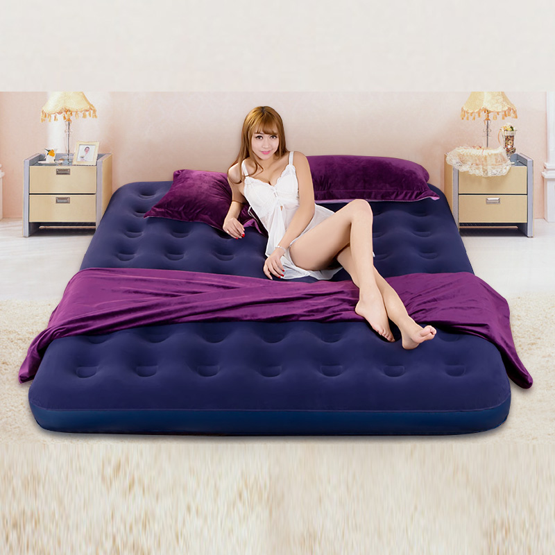 Fashion is convenient inflatable cushion household outdoor portable double bed ...