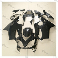 Motorcycle Unpainted Black Fairing Cowl Body Work Kit For Honda CBR600F CBR 600 F F4i 2001