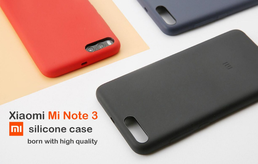 Image 5 - Original xiaomi mi note 3 case cover xiaomi note3 back cover silicone edge fabric case genuine xiaomi brand soft strong shell-in Fitted Cases from Cellphones & Telecommunications