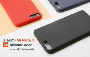 Image 5 - Original xiaomi mi note 3 case cover xiaomi note3 back cover silicone edge fabric case genuine xiaomi brand soft strong shell